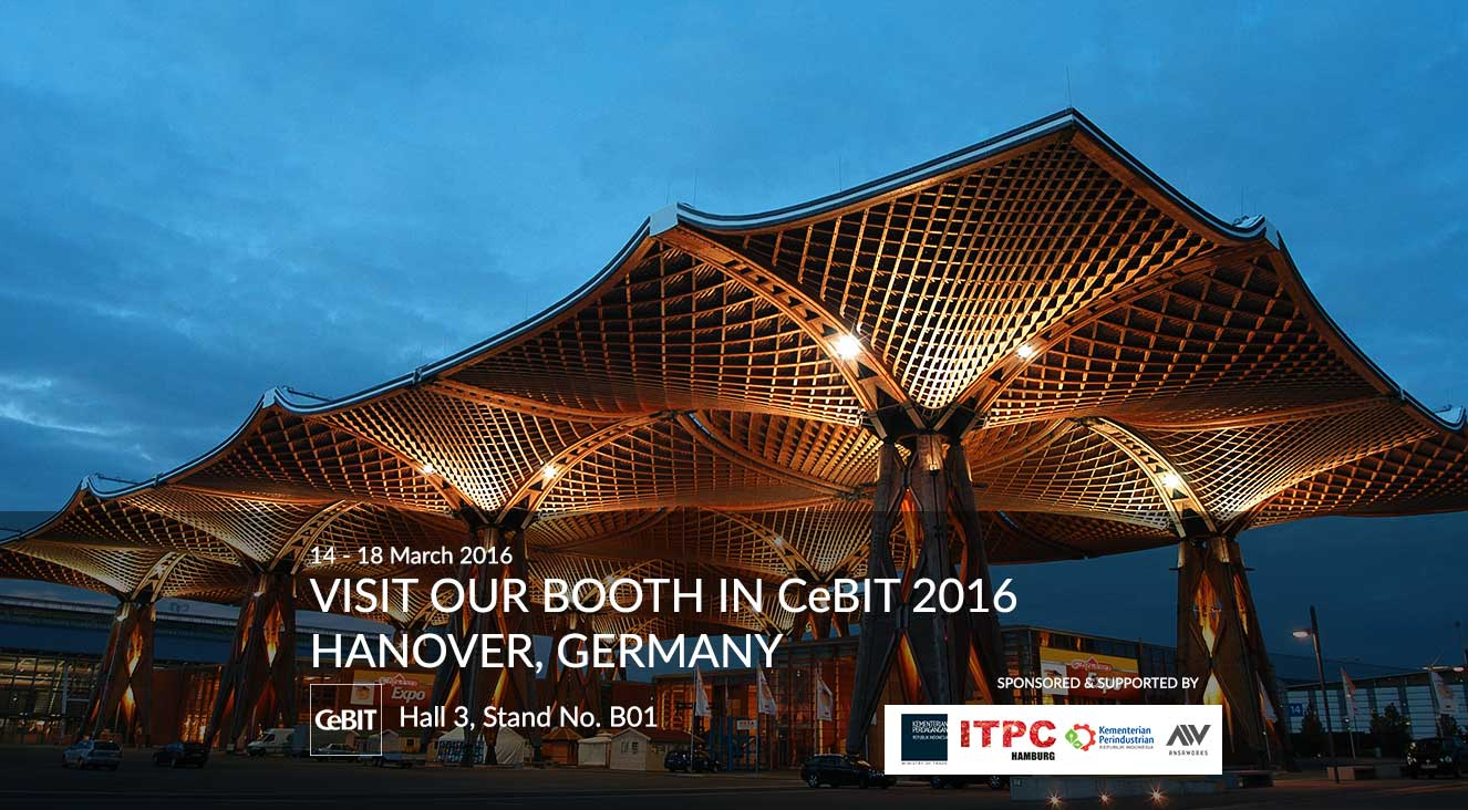 Flacom goes to CeBIT 2016, Hanover, Germany